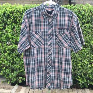 Harley Davidson Button Down Shirt Size XL
